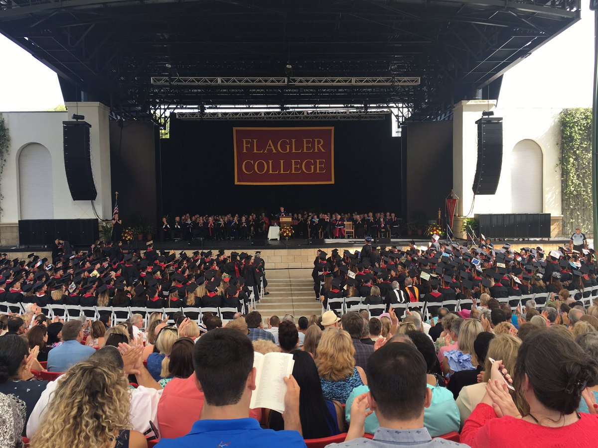Flagler College graduation of 2017