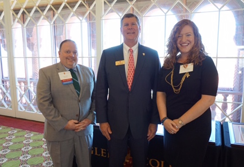 A picture of the Flagler College Alumni Award winners of 2017