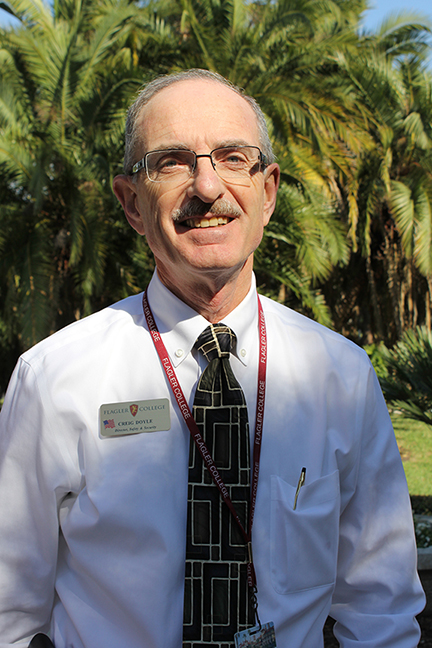 Photo of Creig Doyle, Director of Safety and Security